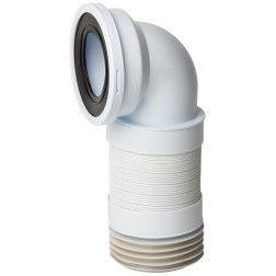 WC mova išsitempianti 265-450mm, 90 laipsnių, su guma, (K719R)