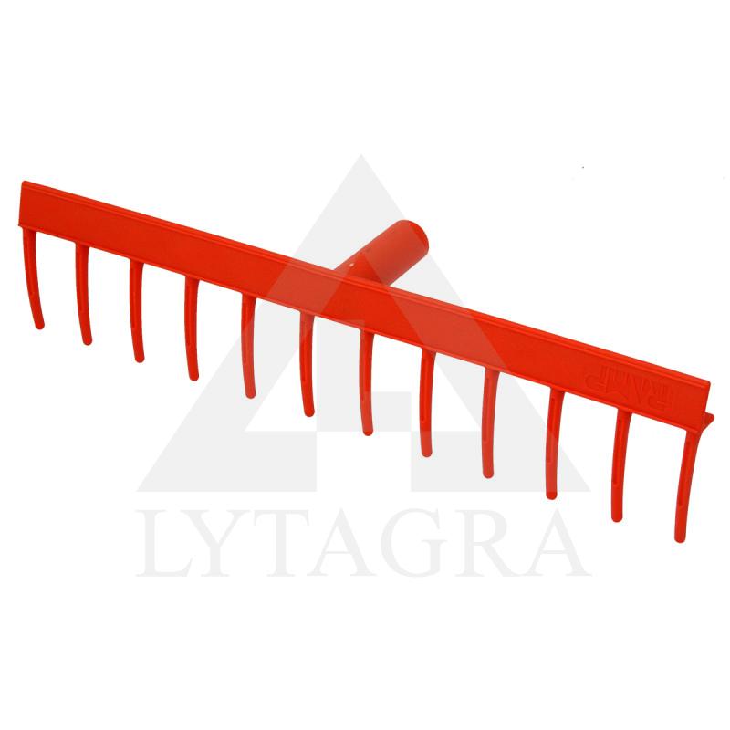 Grėblys P 51 cm, 12 dantų, plast., VERTAS