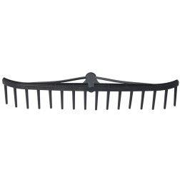 Grėblys P 58cm, 16 dantų, lenktais galais (KTG117)