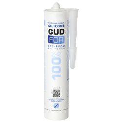 Silikoninis sanitarinis hermetikas, skaidrus GUDFOR 100%