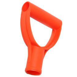 Porankis plastm. D 32 mm, oranžinis, VERTAS