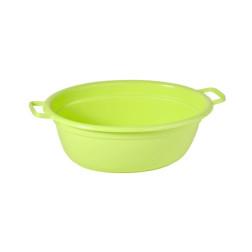 Vonelė, ovali, 65x51x25 cm, 40 L, žalia