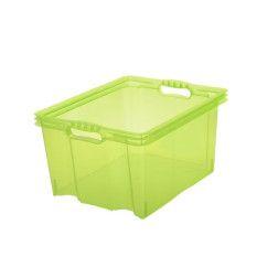 Dėžė MULTI-BOX M, 35x27x21 cm, 13.5 L, žalia spalva