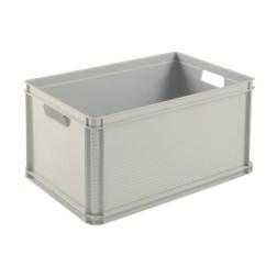 Dėžė ROBERT, 60x40x32 cm, 64 L, pilka