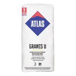ATLAS GRAWIS U - Klijų mišinys putų polistirenui klijuoti ir armuotam sluoksniui atlikti