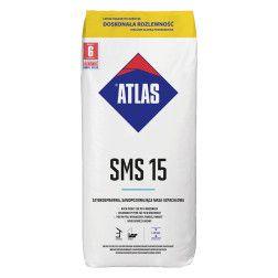 ATLAS SMS 15 - greitai kietėjantis, savaime išsilyginantis grindų glaistas (1-15 mm)