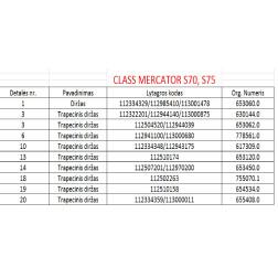 Diržas GATES 1413315 (HM-50-3852) 51-3900LA