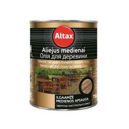 Aliejus Altaxin 0,75l (bespalvis)