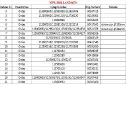 603427 (2HB-3030) DIRŽAS