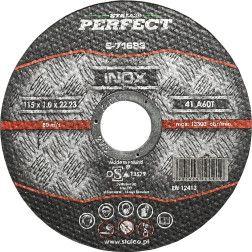 Met.pj.diskas STALCO PERFECT 125x1,0mm