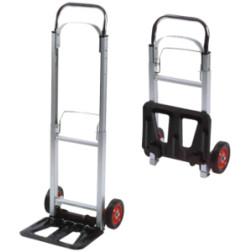 Vežimėlis prekių transportavimui Toko aliuminis, max. 90 kg.
