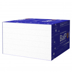 Polistireninio putplasčio plokštė EPS50,  1000 x 1000 x 100 mm
