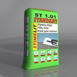 STIMELIT STANDART ST 1.01KLIJAI PLYTELĖMS(25KG)