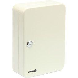 Dėžutė raktams pakabinama Vorel 250x180x80mm, 48 kabliukai, 2 raktai