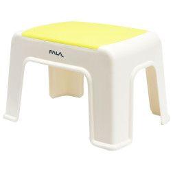 Suolelis plastikinis baltas-geltonas Fala 30x20x21cm