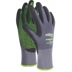 Pirštinės NITRILE FLEX PVC DOTS 11d.