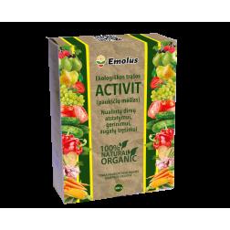 Organinės granuliuotos ekologiškos trąšos Activit 0.8kg