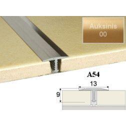 Profilis Effector, sujungimo A54 auksinis 200 cm 13x9 mm
