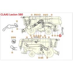 Diržas GATES 1499395 (HTD TP-2800 8M)