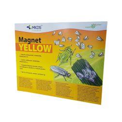MAGNET yellow (20x25 cm) – baltasparnių, amarų, blakučių gaudyklė