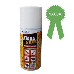 ATAKA SHOT aerozolinis insekticidas, 150 ml