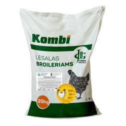 Visavertis lesalas broileriams nuo 11 iki 28 dienų po 20 kg su eteriniais aliejais