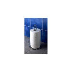 Metalinis stovas popieriniui rankšluoščiui arba tualetiniui popieriui