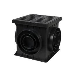 BIELBET šulinėlis kvadratinis  250x250x250 juodas