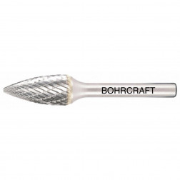 Kietmetalio freza smailios G formos BOHRCRAFT (Ø 6 mm)
