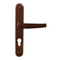 Barcz Door Handle Beta 90mm Brown
