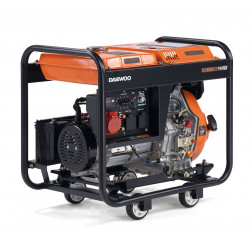 Dyzelinis elektros generatorius Daewoo 5,5kW DDAE6000XE-3