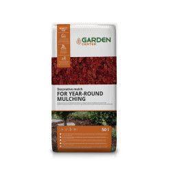 Raudonas mulčias Garden Center, 50 L