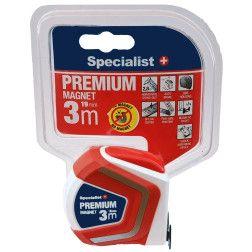 Specialist+ Premium ruletė 3 m x 19 mm