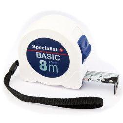Specialist+ Basic ruletė 8 m x 25 mm
