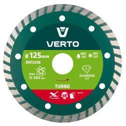 Pjovimo diskas, deimantinis, Turbo, 125mm.,