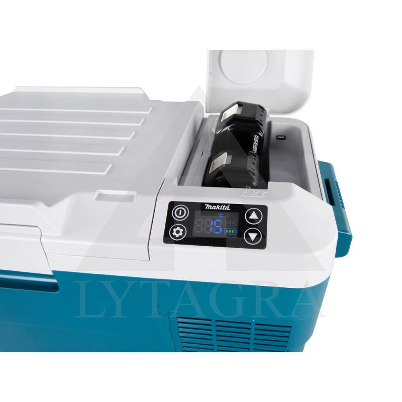 Akumuliatorinis maisto šaldytuvas-šildytuvas Makita DCW180Z