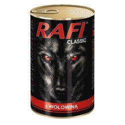 RAFI konservai šunims su jautiena 1250 g