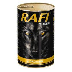RAFI konservai šunims su vištiena 1250 g
