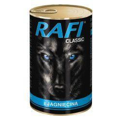 RAFI konservai šunims su ėriena 1250 g