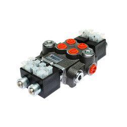 02Z50AAES312VDCG Elektrinis paskirstytojas 2 sekcijų 50ltr/min 12V.