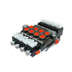 04Z50AAAAES312VDCG Elektrinis paskirstytojas 4 sekcijų 50ltr/min. 12V.