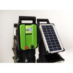 Elektrinis piemuo su saulės baterija