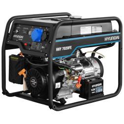 Benzininis elektros generatorius Hyundai HHY7020FE 5,5 kW
