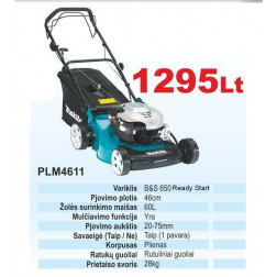 PLM4611 Benz. vejapjovė savaeigė d46cm (1 pavara)