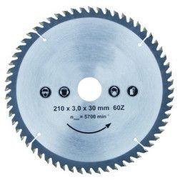 RT1903062 Pjovimo diskas medienai / 190x30x62T / R