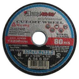 Metalo pj. diskas 125x2.5x22 /Rusija