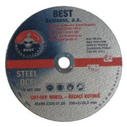 Metalo pjov. diskas 115x2.0x22 /Čekija